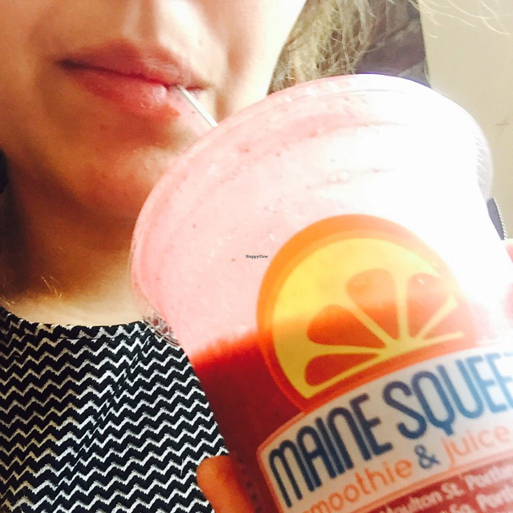 """Photo of Maine Squeeze Juice - Monument Square  by <a href=""""/members/profile/Bgeezy"""">Bgeezy</a> <br/>smoothiee <br/> May 9, 2017  - <a href='/contact/abuse/image/52584/257246'>Report</a>"""