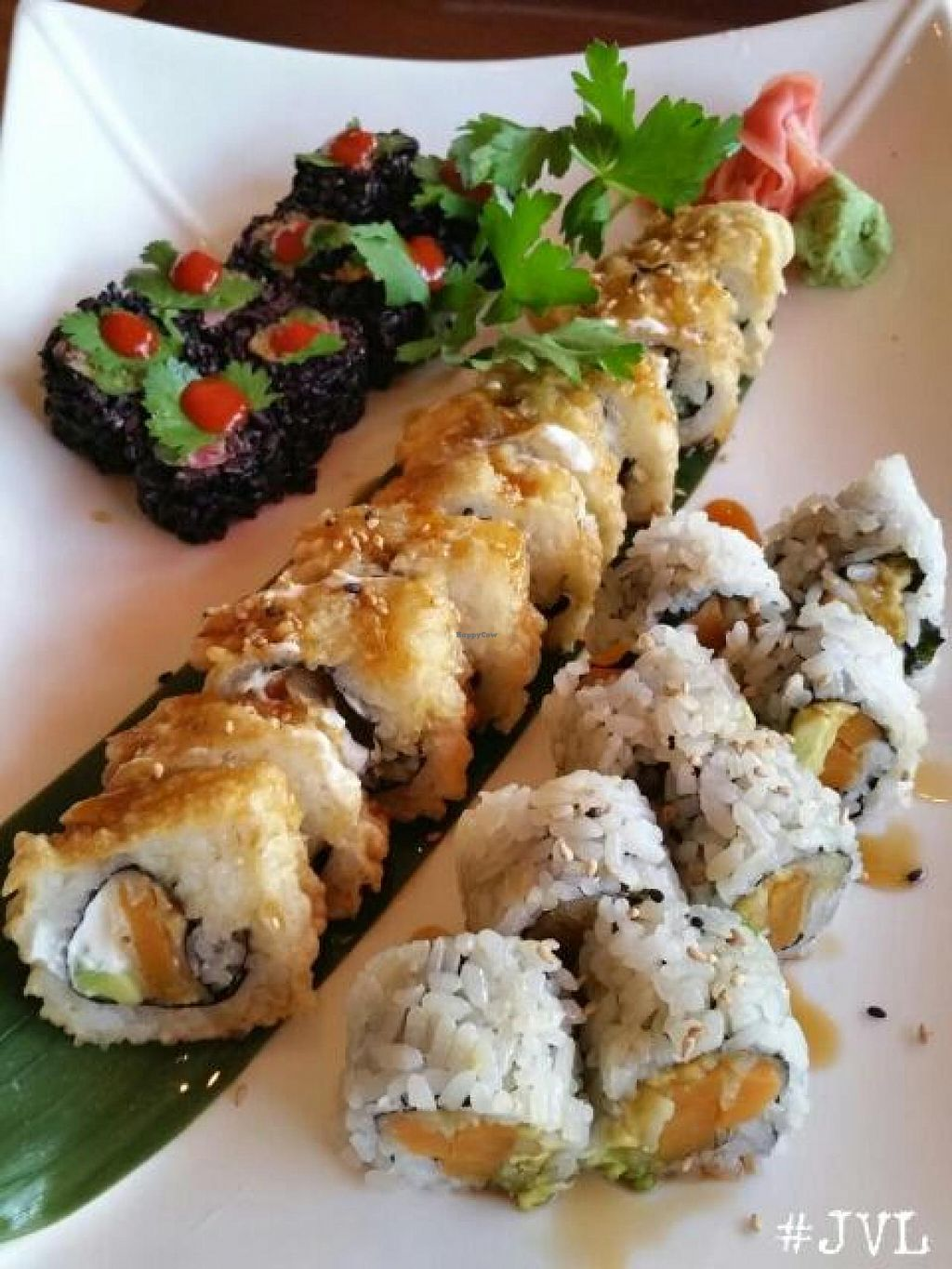 "Photo of Sushiko  by <a href=""/members/profile/JessinJax"">JessinJax</a> <br/>Vegan Sushi! <br/> December 10, 2014  - <a href='/contact/abuse/image/52587/87634'>Report</a>"