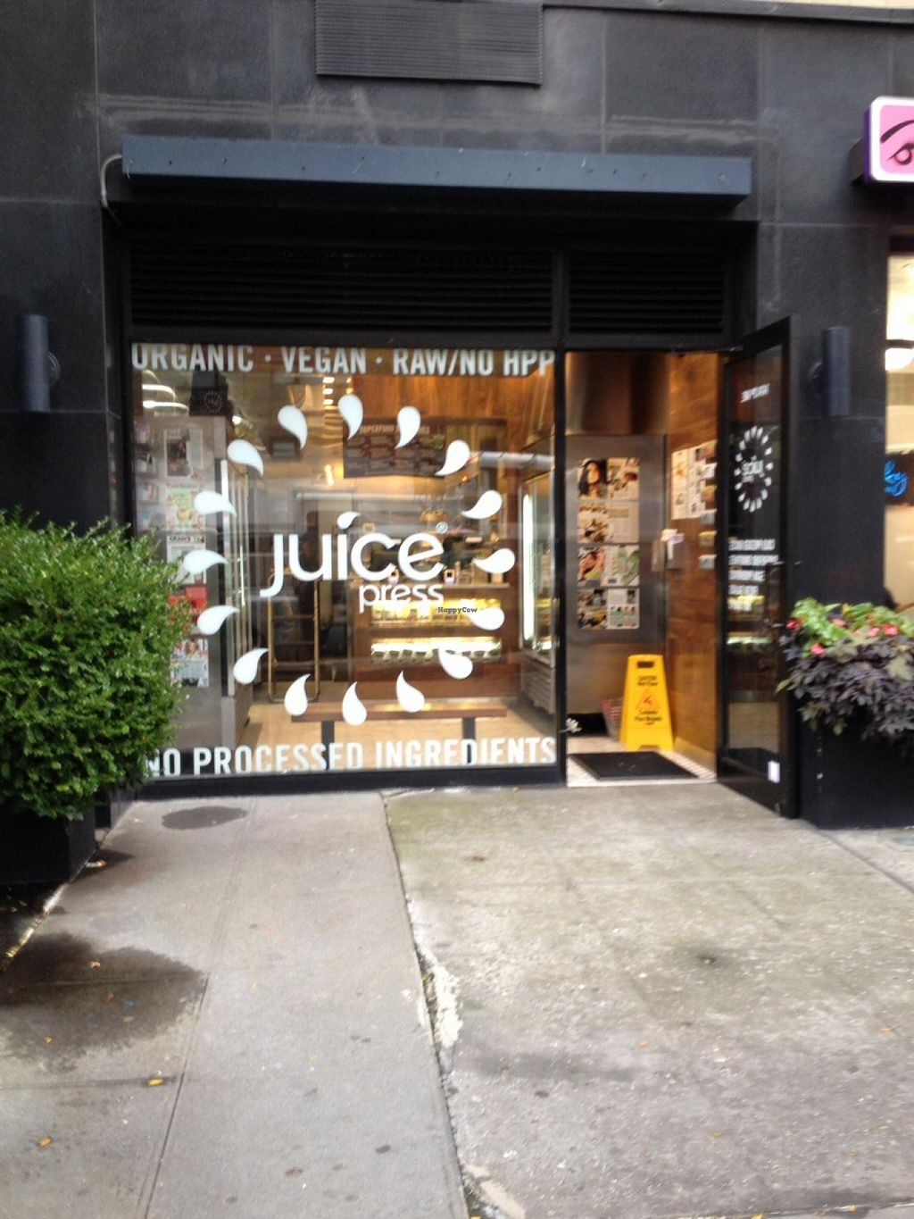 "Photo of Juice Press - Upper East Side  by <a href=""/members/profile/vegan_ryan"">vegan_ryan</a> <br/>Street view <br/> October 28, 2014  - <a href='/contact/abuse/image/52588/84090'>Report</a>"