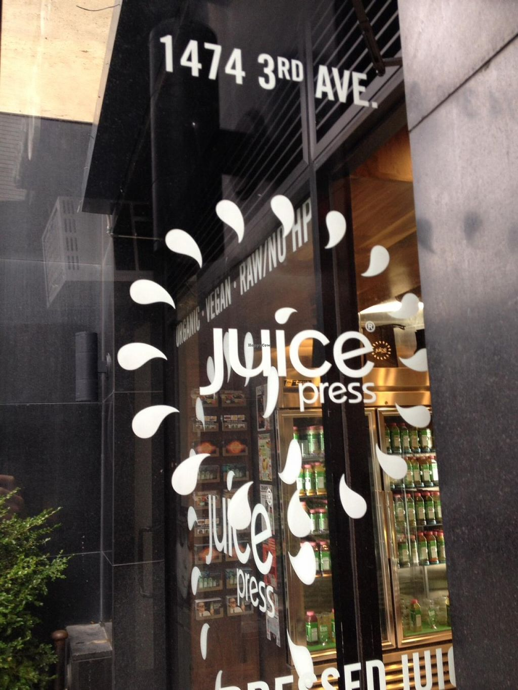"Photo of Juice Press - Upper East Side  by <a href=""/members/profile/vegan_ryan"">vegan_ryan</a> <br/>Front door <br/> October 28, 2014  - <a href='/contact/abuse/image/52588/84091'>Report</a>"