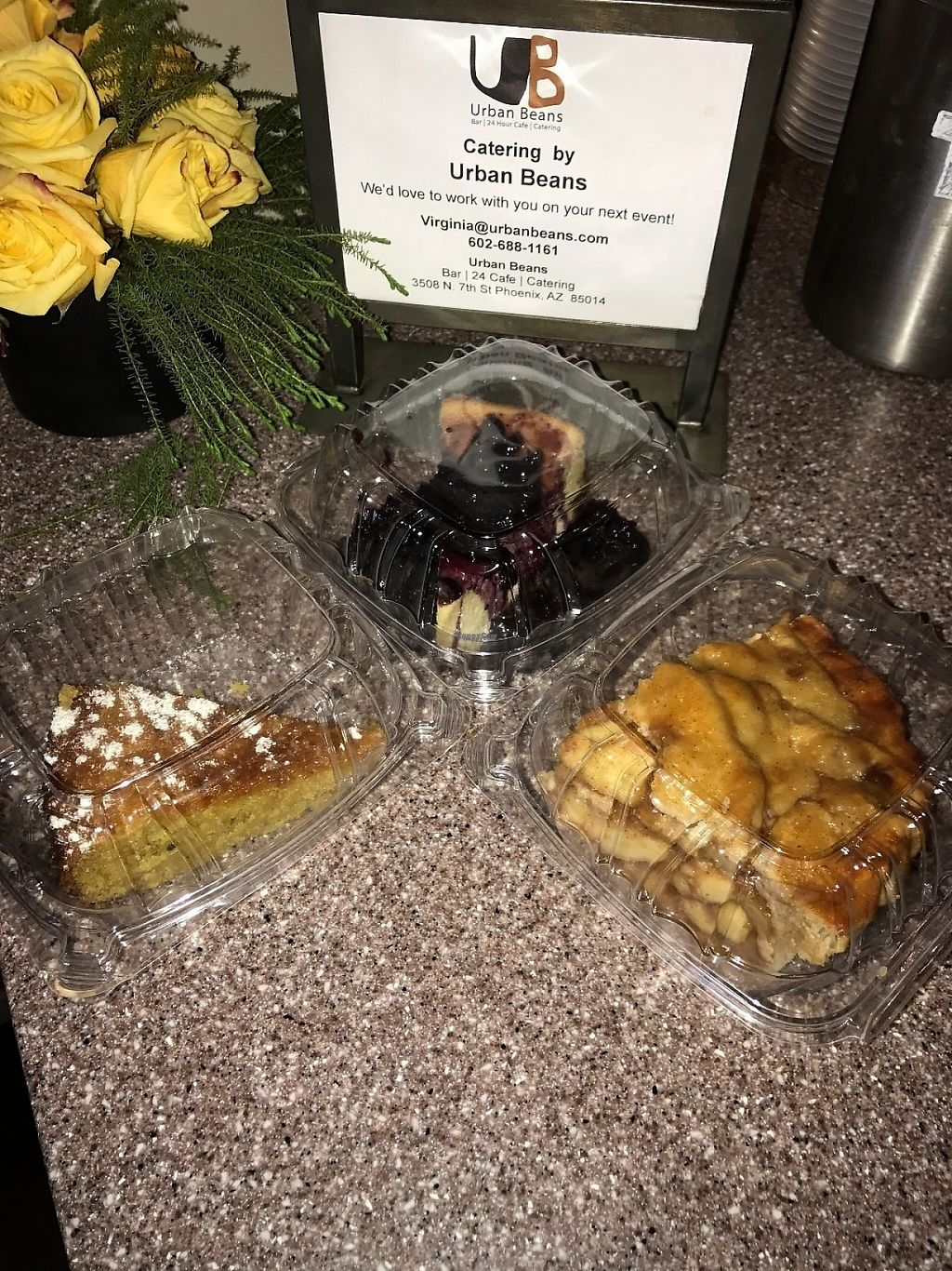 """Photo of Urban Beans  by <a href=""""/members/profile/Tigra220"""">Tigra220</a> <br/>desserts to go <br/> March 10, 2017  - <a href='/contact/abuse/image/52599/234763'>Report</a>"""