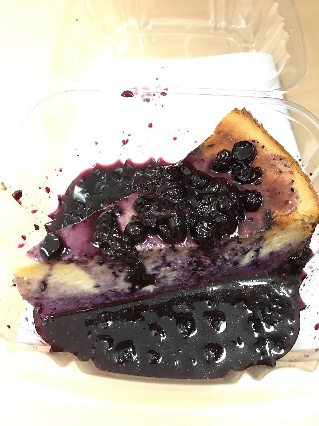 """Photo of Urban Beans  by <a href=""""/members/profile/Tigra220"""">Tigra220</a> <br/>Blueberry Cheesecake <br/> March 10, 2017  - <a href='/contact/abuse/image/52599/234765'>Report</a>"""