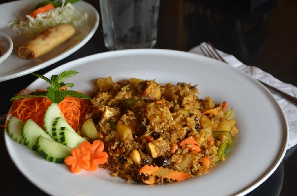 """Photo of Kati Thai Cuisine  by <a href=""""/members/profile/Anita%20Good%20Meal"""">Anita Good Meal</a> <br/>Pineapple Fried Rice with Tofu <br/> October 30, 2014  - <a href='/contact/abuse/image/52641/84213'>Report</a>"""