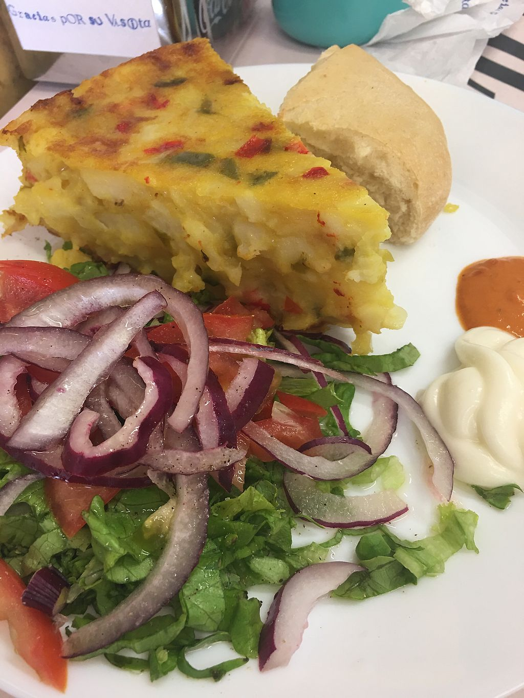 """Photo of K-Vegan  by <a href=""""/members/profile/kiiabby"""">kiiabby</a> <br/>Tortilla  <br/> March 27, 2018  - <a href='/contact/abuse/image/52654/376803'>Report</a>"""