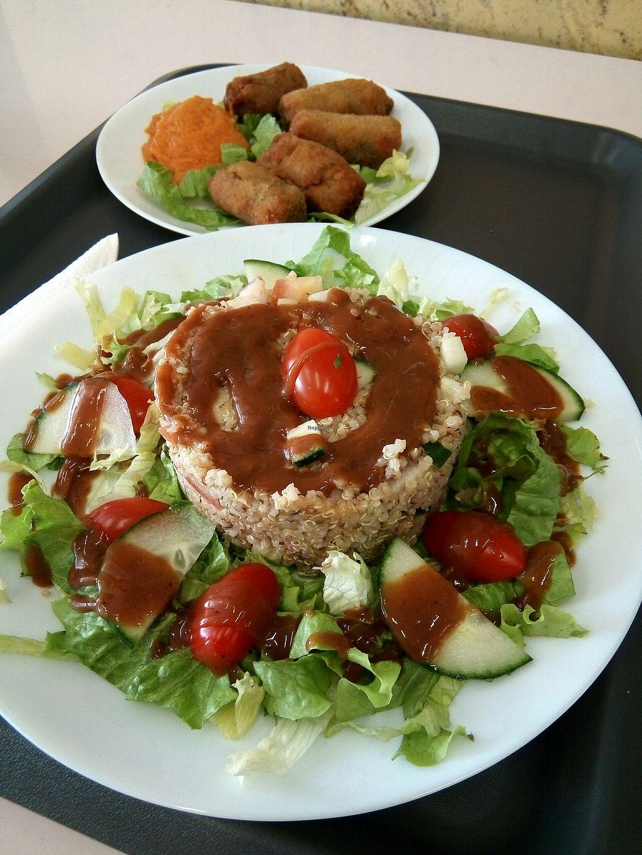 "Photo of K-Vegan  by <a href=""/members/profile/Antoniopiadina"">Antoniopiadina</a> <br/>quinoa salad, croquettes <br/> April 23, 2018  - <a href='/contact/abuse/image/52654/389909'>Report</a>"
