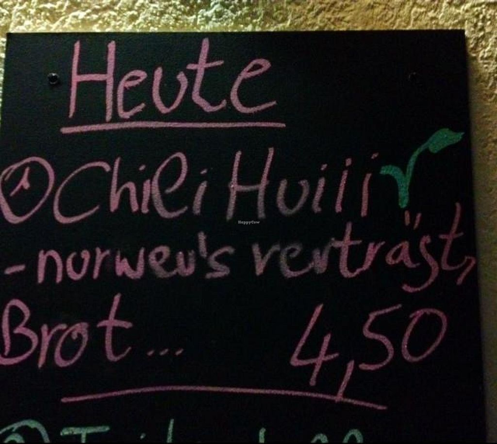 "Photo of Alt Buchheim  by <a href=""/members/profile/LowKnee"">LowKnee</a> <br/>vegan Chili on the Menu  <br/> November 6, 2014  - <a href='/contact/abuse/image/52656/84833'>Report</a>"