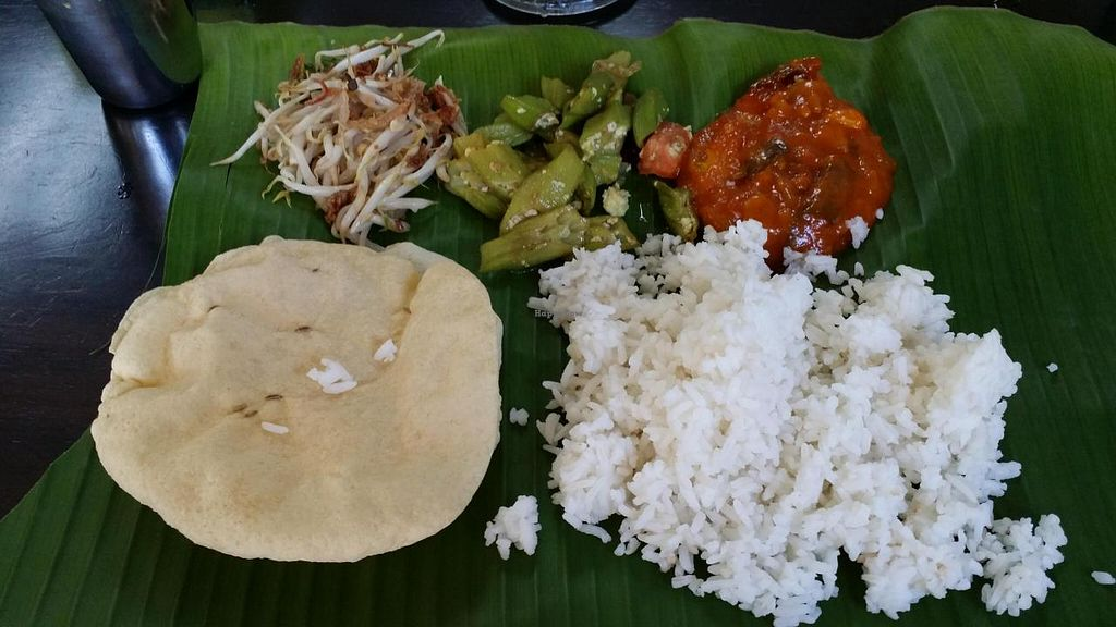 """Photo of Arati Vilas Banana Leaf Restaurant  by <a href=""""/members/profile/walter007"""">walter007</a> <br/>Food <br/> November 1, 2014  - <a href='/contact/abuse/image/52667/84313'>Report</a>"""