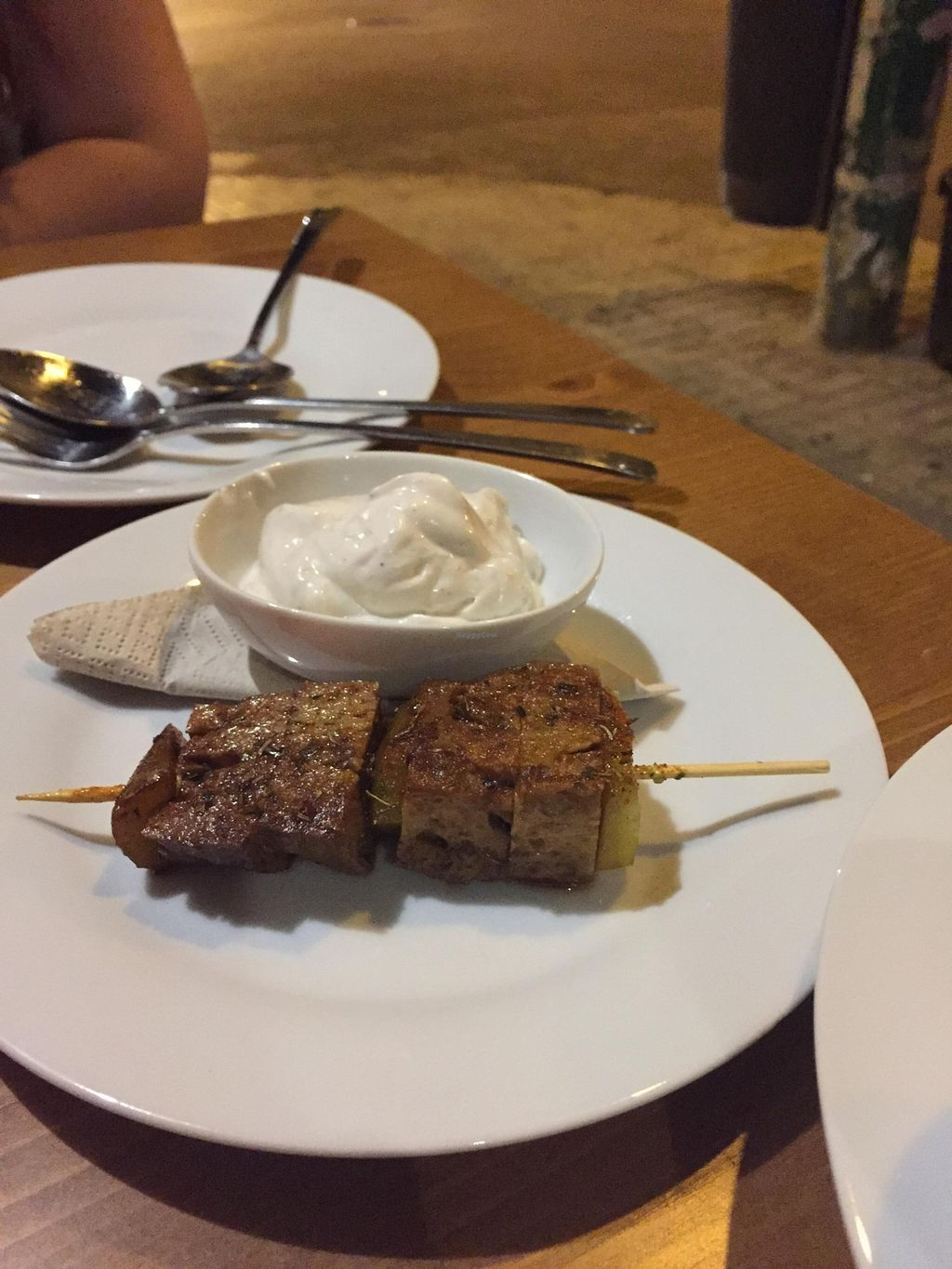 """Photo of CLOSED: La Golondrina  by <a href=""""/members/profile/Littlething"""">Littlething</a> <br/>Grilled seitan <br/> November 16, 2015  - <a href='/contact/abuse/image/52670/125138'>Report</a>"""