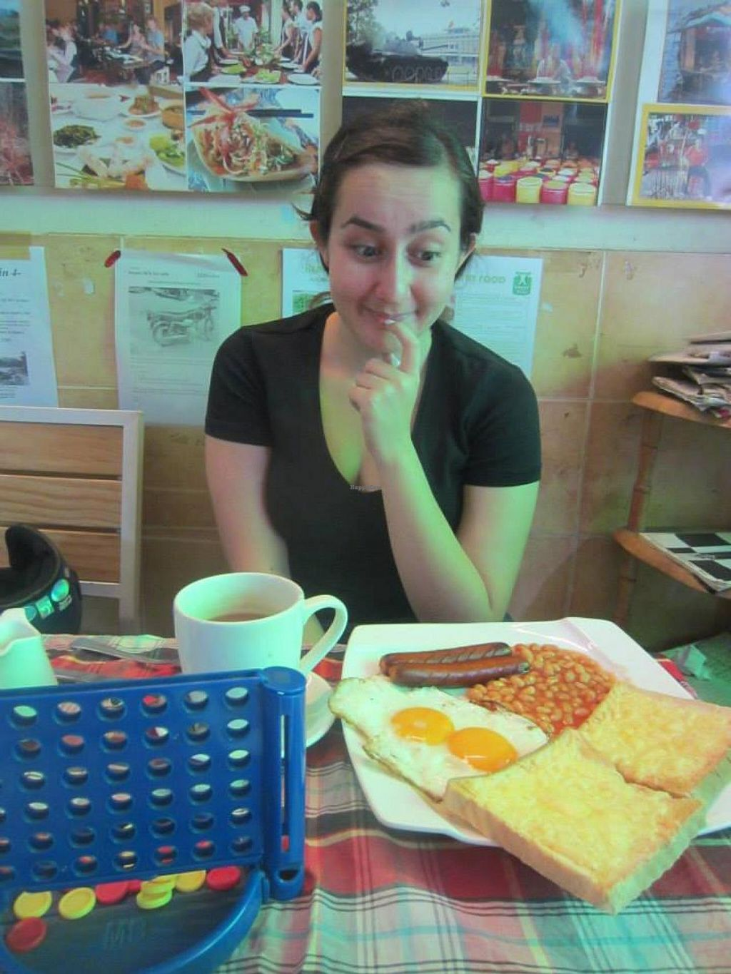 """Photo of Bookworm's Coffee  by <a href=""""/members/profile/Kimxula"""">Kimxula</a> <br/>vegetarian english breakfast at bookworm's <br/> May 31, 2015  - <a href='/contact/abuse/image/52690/104287'>Report</a>"""