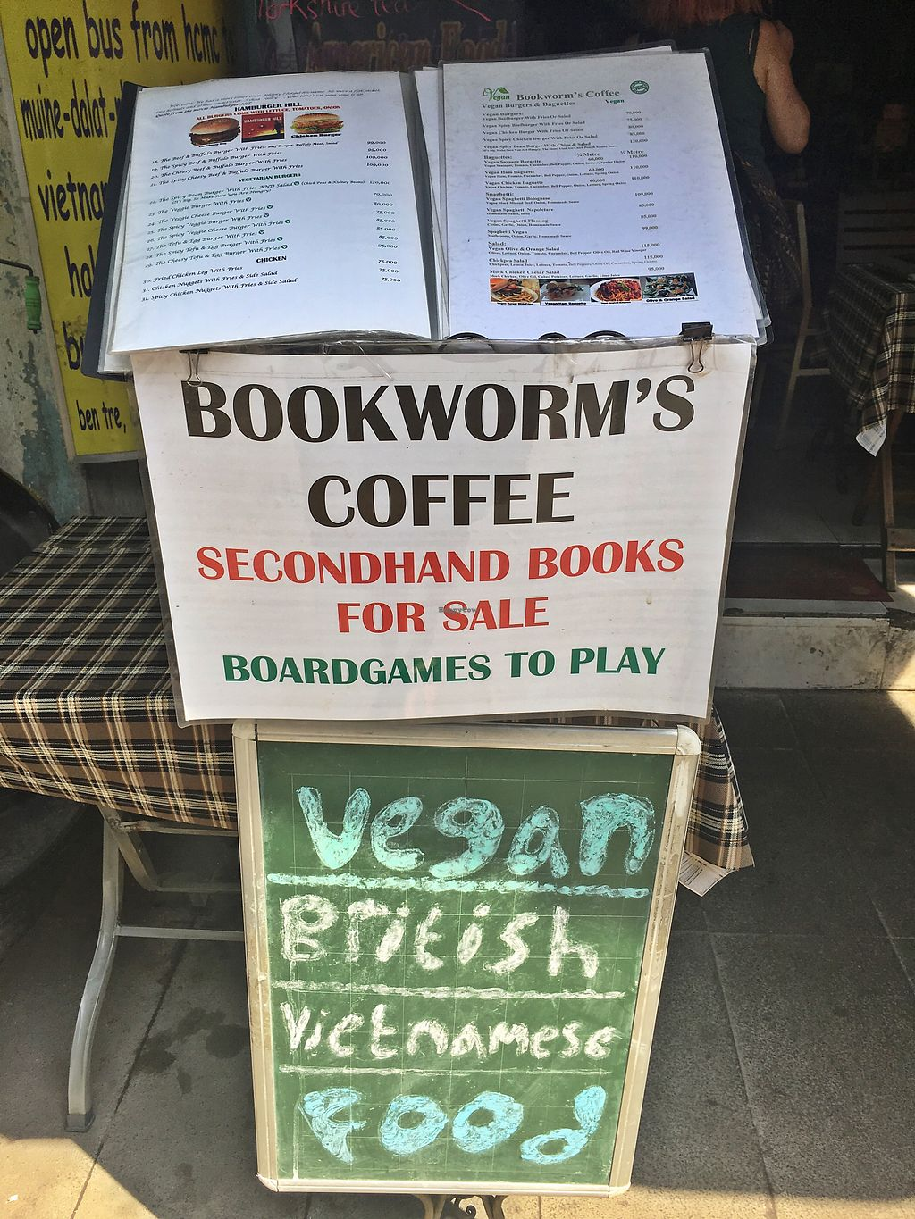 """Photo of Bookworm's Coffee  by <a href=""""/members/profile/MaikaKarremans"""">MaikaKarremans</a> <br/>Entrance  <br/> January 11, 2018  - <a href='/contact/abuse/image/52690/345477'>Report</a>"""