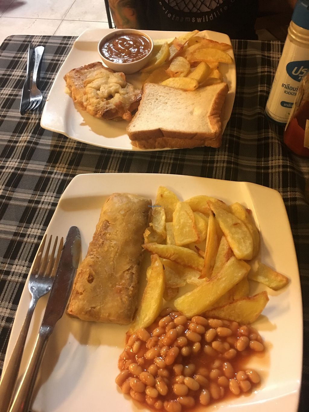 """Photo of Bookworm's Coffee  by <a href=""""/members/profile/MollyKennedy"""">MollyKennedy</a> <br/>Vegan fish and chips! <br/> January 21, 2018  - <a href='/contact/abuse/image/52690/349421'>Report</a>"""