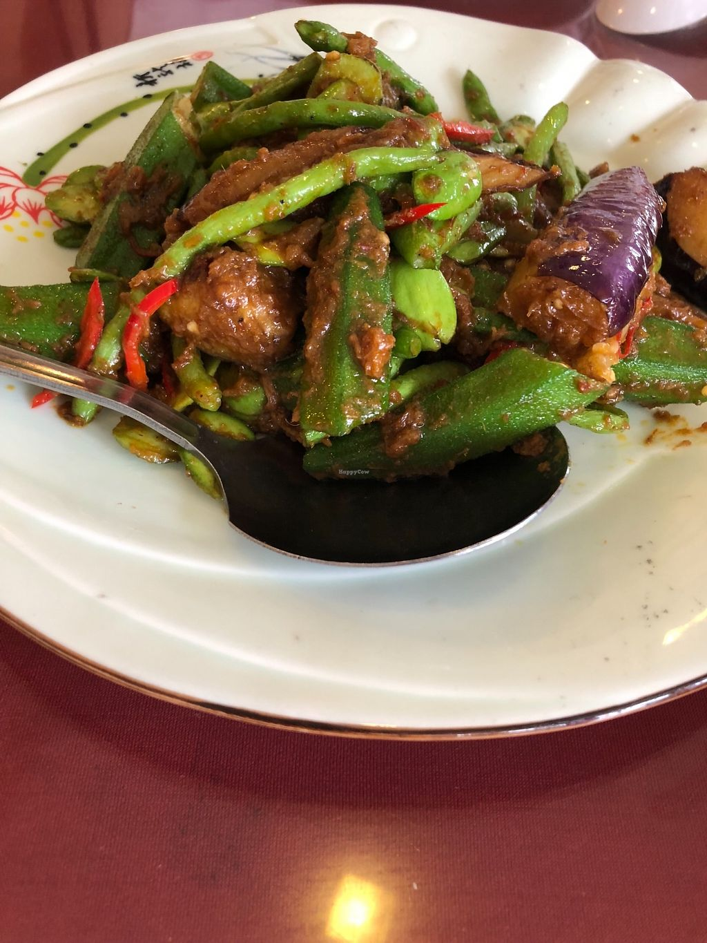 """Photo of Great Nature Enterprise  by <a href=""""/members/profile/AmyLeySzeThoo"""">AmyLeySzeThoo</a> <br/>Sambal Brinjal, Lady Finger, Petai and Long Bean <br/> February 20, 2018  - <a href='/contact/abuse/image/52703/361543'>Report</a>"""