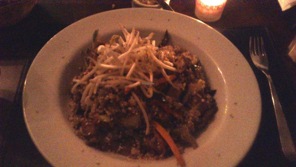 """Photo of Origen  by <a href=""""/members/profile/citizenInsane"""">citizenInsane</a> <br/>veggies and tofu wok, Café Origen. bad photo, sorry, but very tasty dish <br/> November 9, 2014  - <a href='/contact/abuse/image/52717/85090'>Report</a>"""