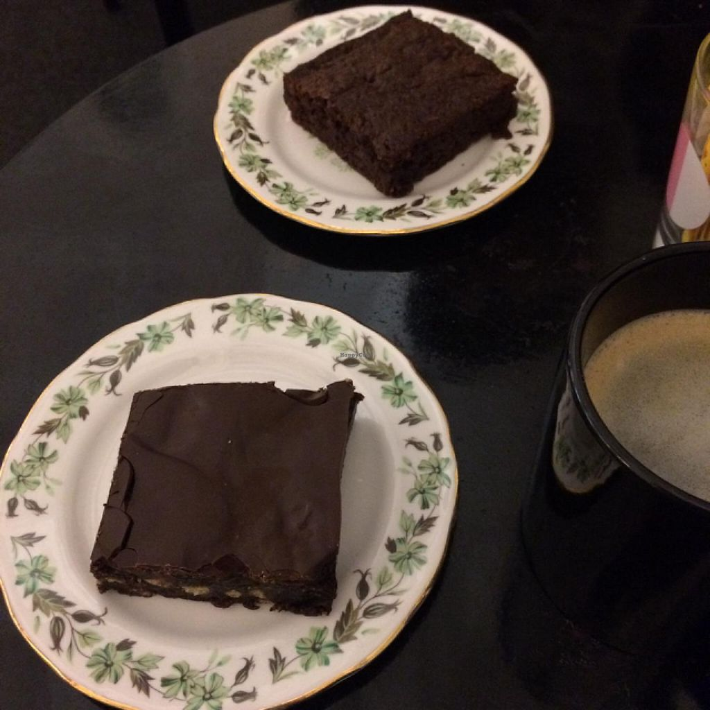 "Photo of CLOSED: Somethin's Brewin' Tea Room  by <a href=""/members/profile/Lauren_hadfield"">Lauren_hadfield</a> <br/>heavenly slices of brownie and tiffin <br/> January 12, 2015  - <a href='/contact/abuse/image/52778/90196'>Report</a>"