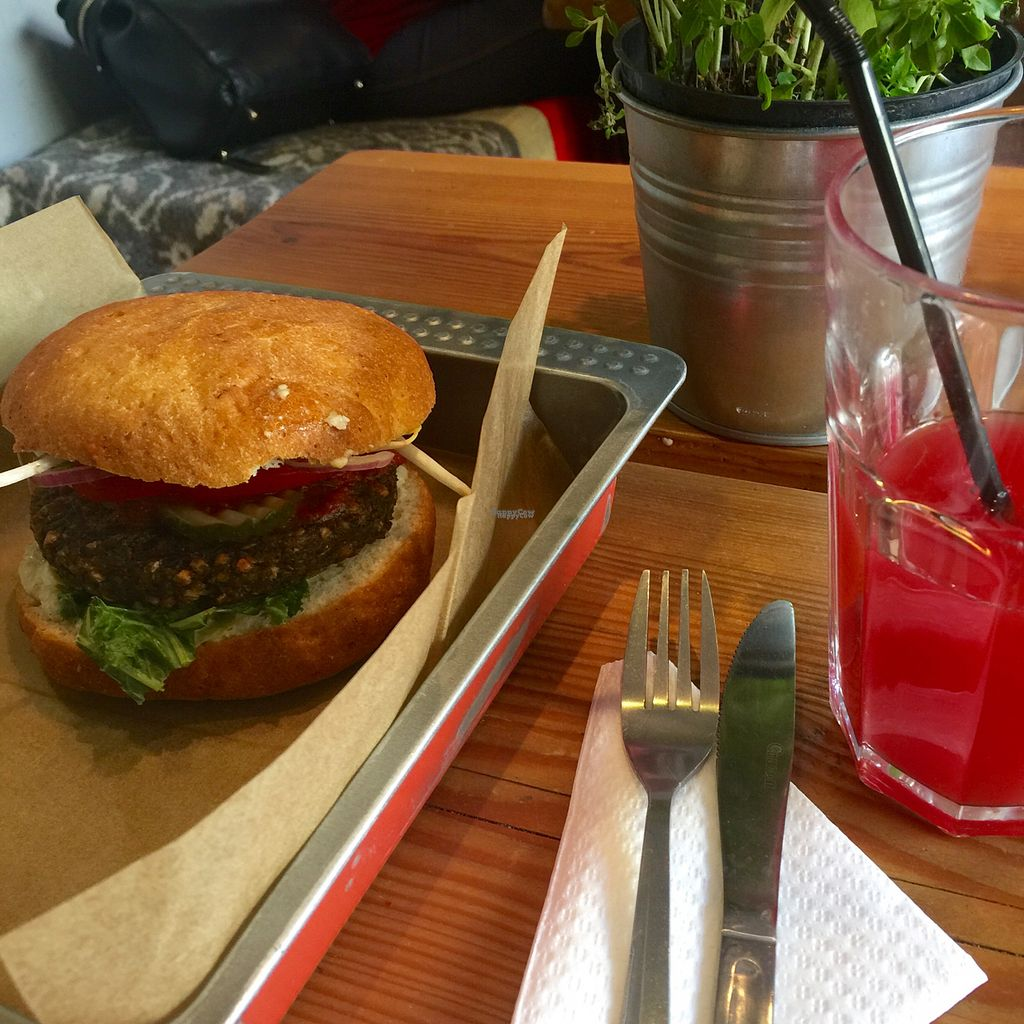 """Photo of Chwast Food  by <a href=""""/members/profile/KasiaFraser"""">KasiaFraser</a> <br/>mb and watermelon lemonade  <br/> September 16, 2016  - <a href='/contact/abuse/image/52782/176113'>Report</a>"""