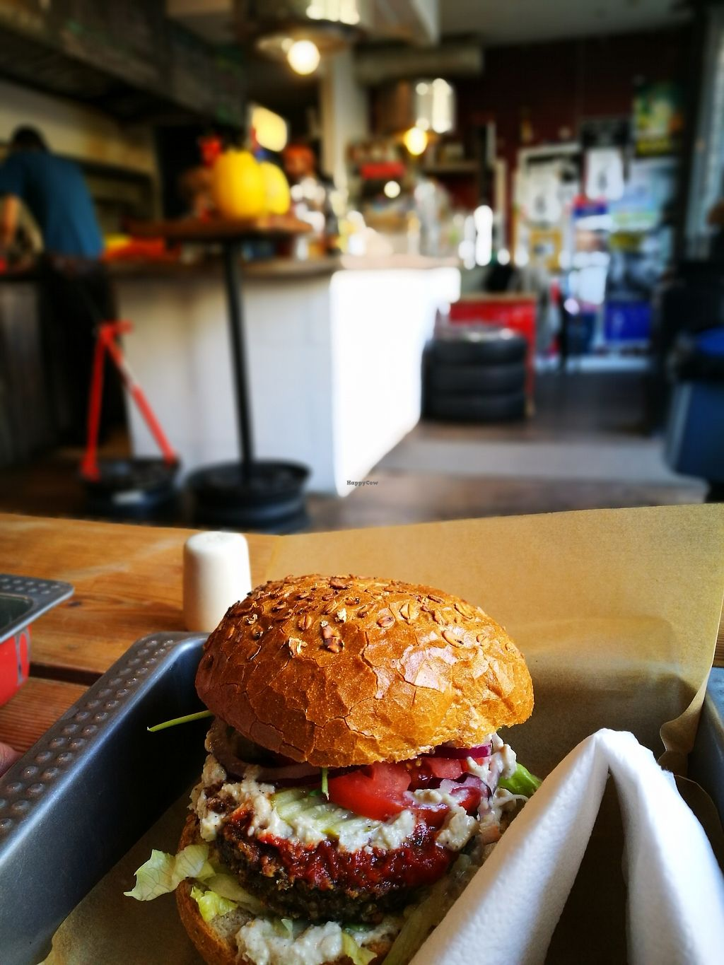 """Photo of Chwast Food  by <a href=""""/members/profile/k-girl80"""">k-girl80</a> <br/>Mushroom burger with a view to the inside <br/> October 12, 2017  - <a href='/contact/abuse/image/52782/314481'>Report</a>"""