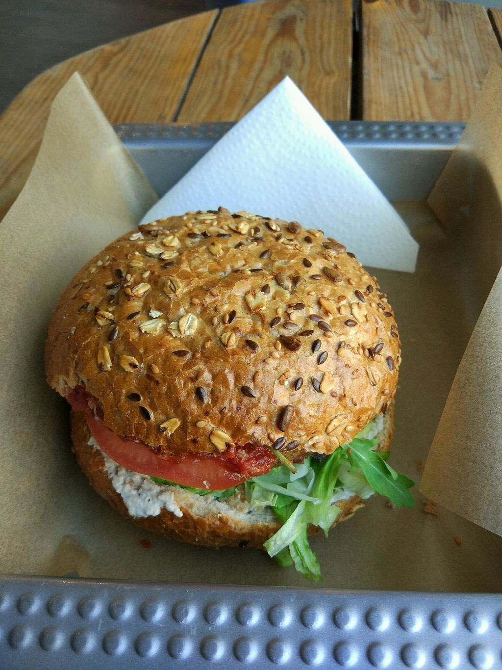 """Photo of Chwast Food  by <a href=""""/members/profile/SoniaR"""">SoniaR</a> <br/>cieciorka burger <br/> April 13, 2018  - <a href='/contact/abuse/image/52782/385244'>Report</a>"""