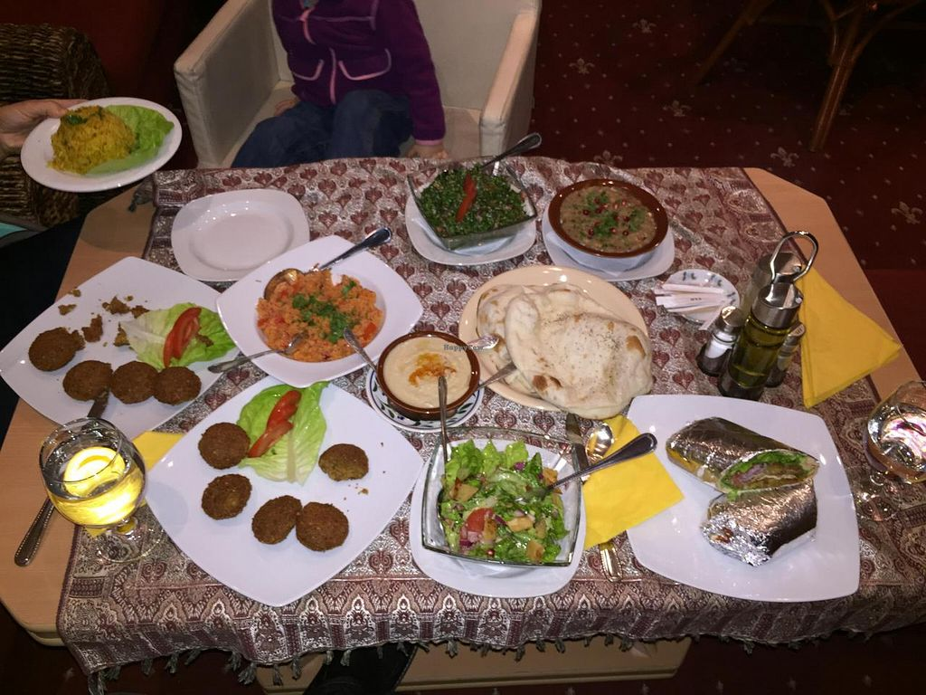 """Photo of Restaurant Taverna Libaneza  by <a href=""""/members/profile/monmart"""">monmart</a> <br/>Everything Vegan in this Photo <br/> November 5, 2014  - <a href='/contact/abuse/image/52784/84734'>Report</a>"""