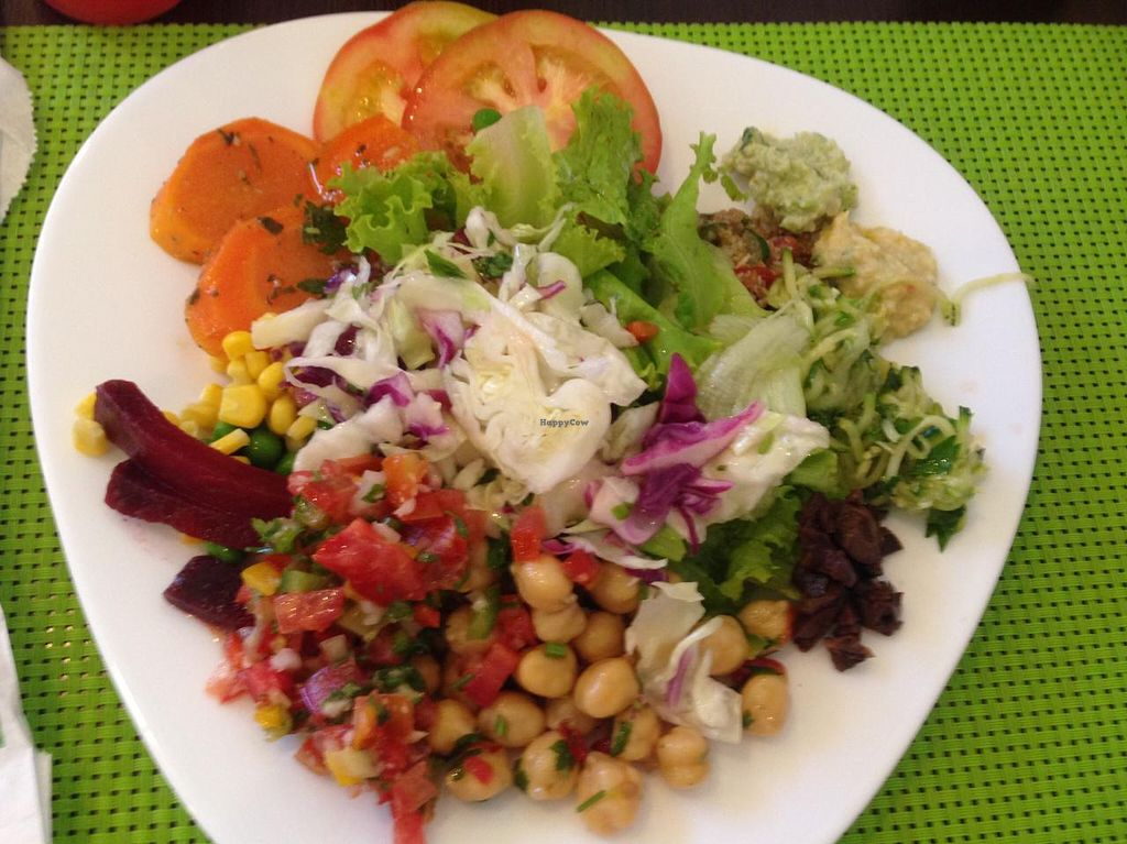 """Photo of Natural Jardim  by <a href=""""/members/profile/Paolla"""">Paolla</a> <br/>Some of the options of the salad buffet <br/> February 18, 2015  - <a href='/contact/abuse/image/52794/93436'>Report</a>"""