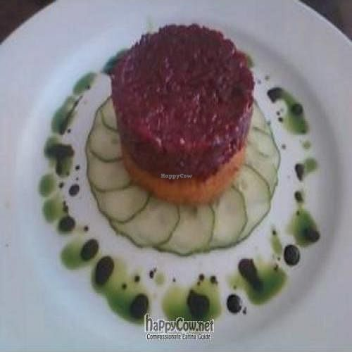 "Photo of CLOSED: Madeleine Bistro  by <a href=""/members/profile/Sonja%20and%20Dirk"">Sonja and Dirk</a> <br/>red beet tartare <br/> September 24, 2011  - <a href='/contact/abuse/image/5279/10805'>Report</a>"