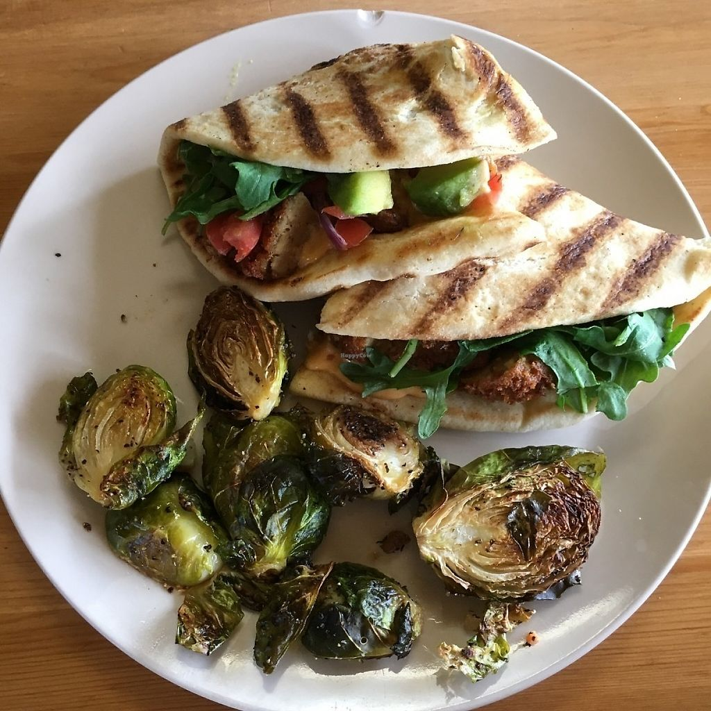 """Photo of Killer Vegan  by <a href=""""/members/profile/veganri"""">veganri</a> <br/>Killer Vegan Panini  <br/> May 27, 2017  - <a href='/contact/abuse/image/52819/262852'>Report</a>"""