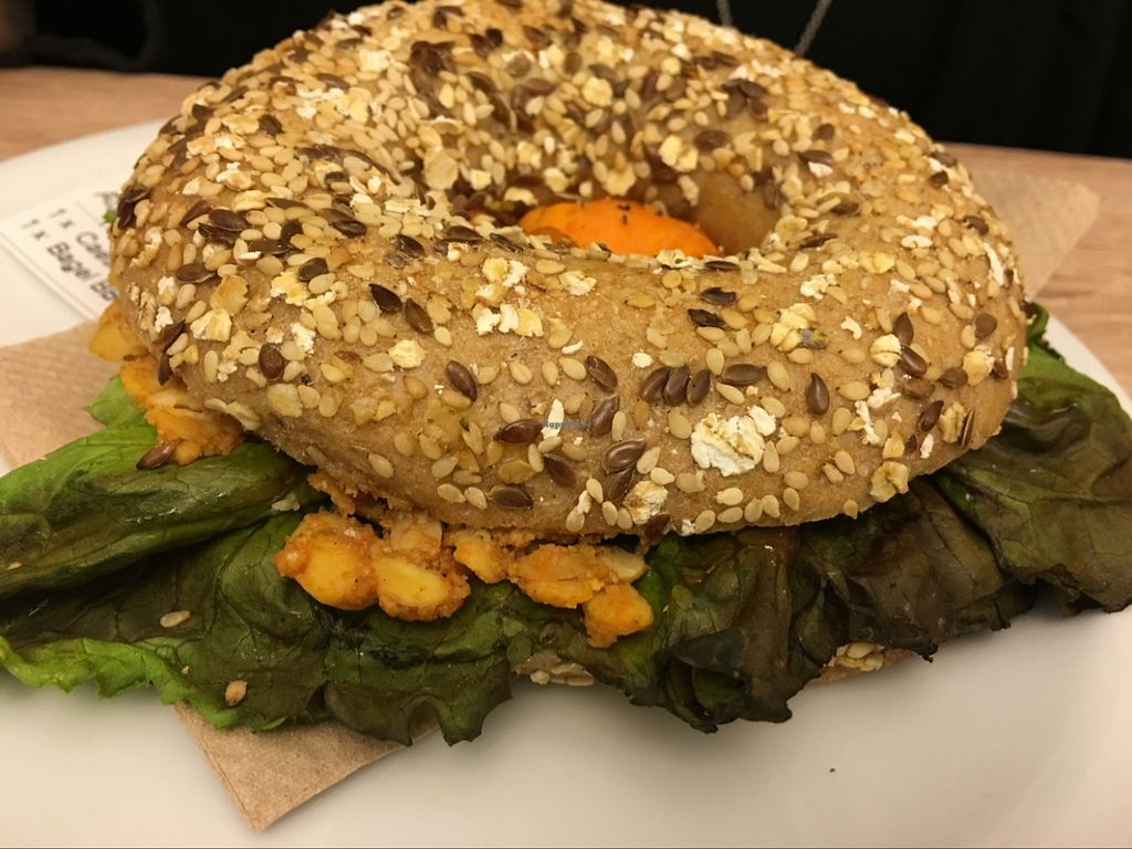 """Photo of CLOSED: Goodies  by <a href=""""/members/profile/marky_mark"""">marky_mark</a> <br/>BBQ sweet potato bagel <br/> November 11, 2015  - <a href='/contact/abuse/image/52829/124591'>Report</a>"""