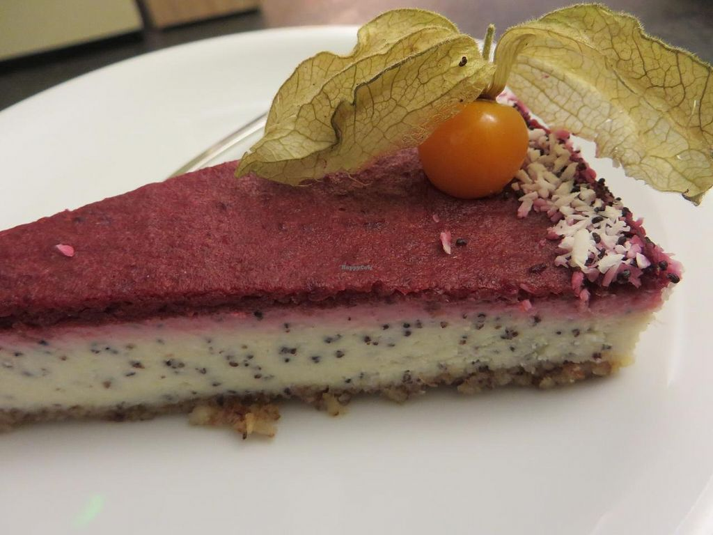 """Photo of CLOSED: Goodies  by <a href=""""/members/profile/VegiAnna"""">VegiAnna</a> <br/>raw poppy seed and cherry cheesecake <br/> April 21, 2015  - <a href='/contact/abuse/image/52829/99778'>Report</a>"""