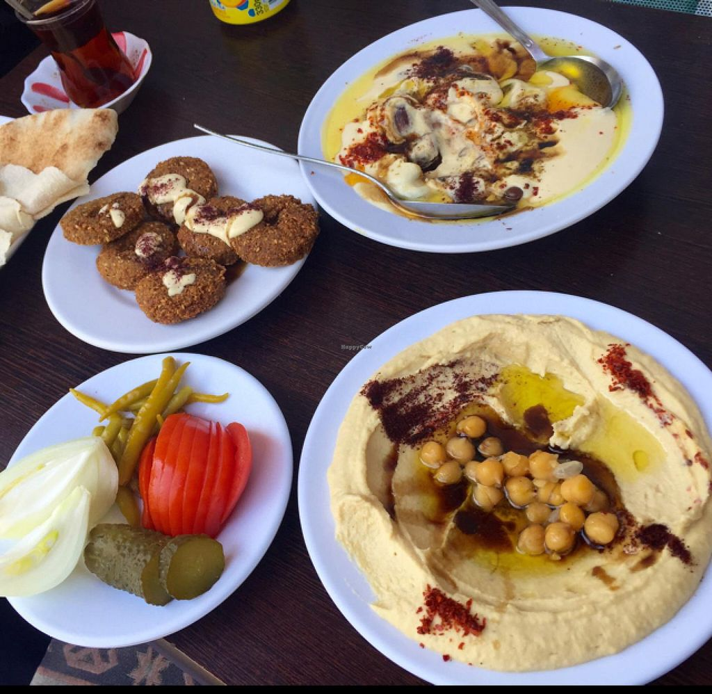 """Photo of CLOSED: Old Damascus  by <a href=""""/members/profile/tsathoggua101"""">tsathoggua101</a> <br/>Delicious spread of vegan goodness, plus tea. $AUD6 <br/> April 11, 2015  - <a href='/contact/abuse/image/52857/98582'>Report</a>"""