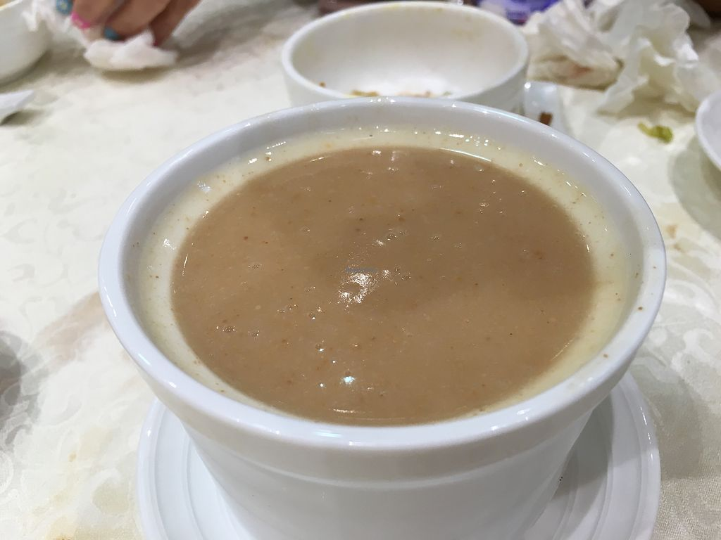 """Photo of Gaia Veggie Shop - Wong Tai SIn  by <a href=""""/members/profile/Veg4Jay"""">Veg4Jay</a> <br/>Cashew Nut Soup <br/> April 17, 2018  - <a href='/contact/abuse/image/52877/387148'>Report</a>"""