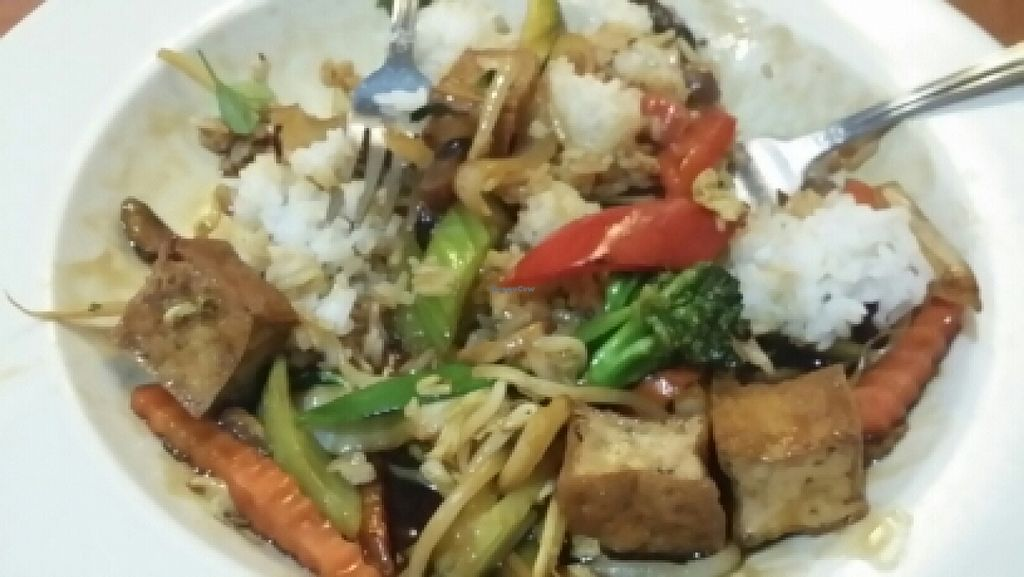 """Photo of Thai Meal  by <a href=""""/members/profile/maltinej"""">maltinej</a> <br/>Vegan Indonesian stir fry <br/> April 4, 2016  - <a href='/contact/abuse/image/52884/142753'>Report</a>"""