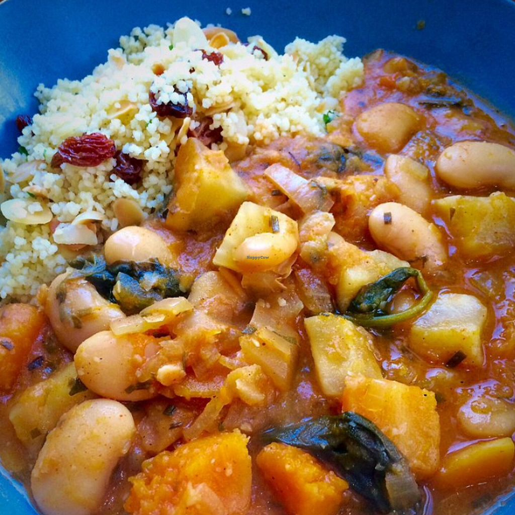 """Photo of CLOSED: Black Bear Cafe  by <a href=""""/members/profile/CiaraSlevin"""">CiaraSlevin</a> <br/>Warming winter veggie stew & couscous, delicious <br/> January 9, 2016  - <a href='/contact/abuse/image/52889/131674'>Report</a>"""