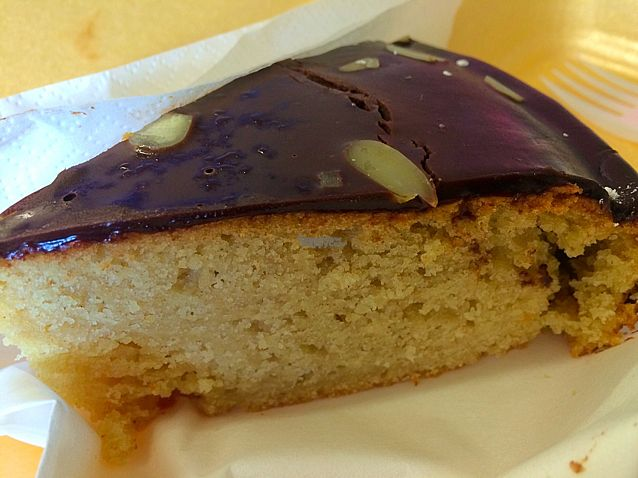 """Photo of CLOSED: Black Bear Cafe  by <a href=""""/members/profile/CiaraSlevin"""">CiaraSlevin</a> <br/>vegan chocolate-orange cake <br/> August 31, 2016  - <a href='/contact/abuse/image/52889/172730'>Report</a>"""