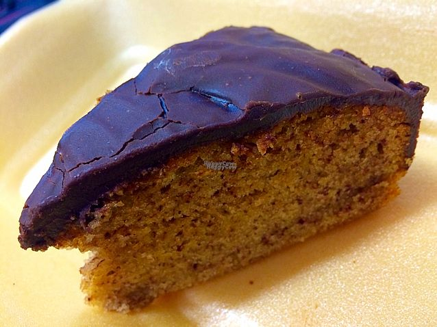"""Photo of CLOSED: Black Bear Cafe  by <a href=""""/members/profile/CiaraSlevin"""">CiaraSlevin</a> <br/>Banana coconut cake with chocolate granache (vegan) #LUSH <br/> September 9, 2016  - <a href='/contact/abuse/image/52889/174665'>Report</a>"""