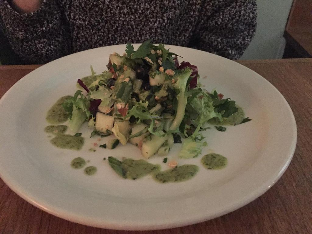 """Photo of CLOSED: Black Bear Cafe  by <a href=""""/members/profile/sriblet"""">sriblet</a> <br/>Melon, Blueberry Salad with Basil Vinaigrette Dressing <br/> November 30, 2014  - <a href='/contact/abuse/image/52889/86864'>Report</a>"""
