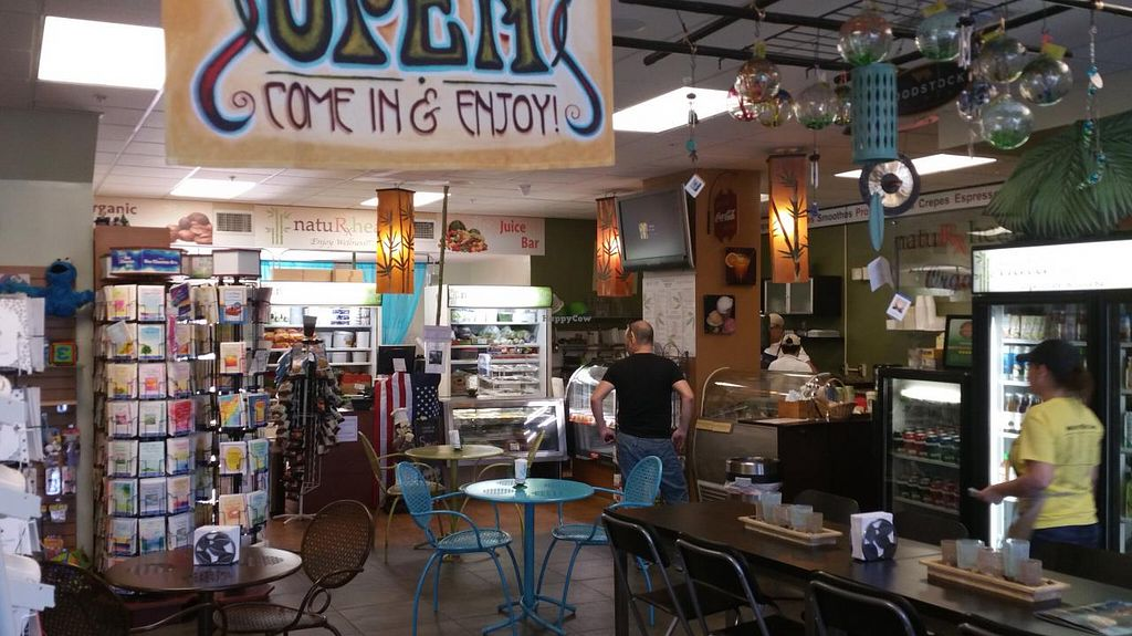 """Photo of Naturxheal Organic Cafe and Juice Bar  by <a href=""""/members/profile/RonnyRph"""">RonnyRph</a> <br/>Relaxed, casual ambience! <br/> June 14, 2015  - <a href='/contact/abuse/image/52893/105952'>Report</a>"""