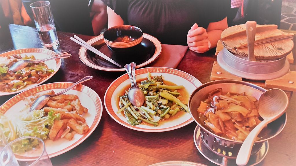 """Photo of Kin Long  by <a href=""""/members/profile/vegankiwis"""">vegankiwis</a> <br/>All vegan Chinese dishes - amazing and tasty <br/> June 30, 2017  - <a href='/contact/abuse/image/52956/275060'>Report</a>"""