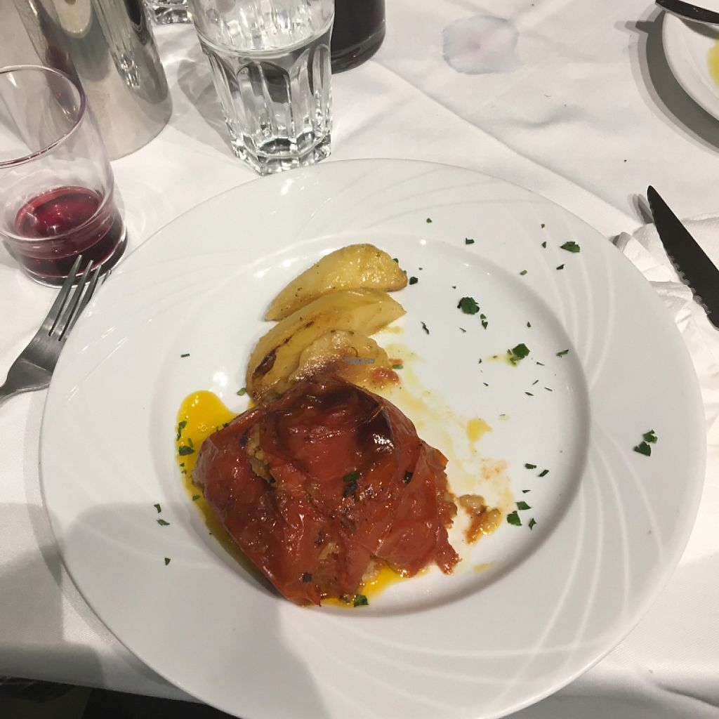 """Photo of Liondi  by <a href=""""/members/profile/KelseyHudspeth"""">KelseyHudspeth</a> <br/>stuffed tomato dish <br/> March 29, 2017  - <a href='/contact/abuse/image/52963/242414'>Report</a>"""