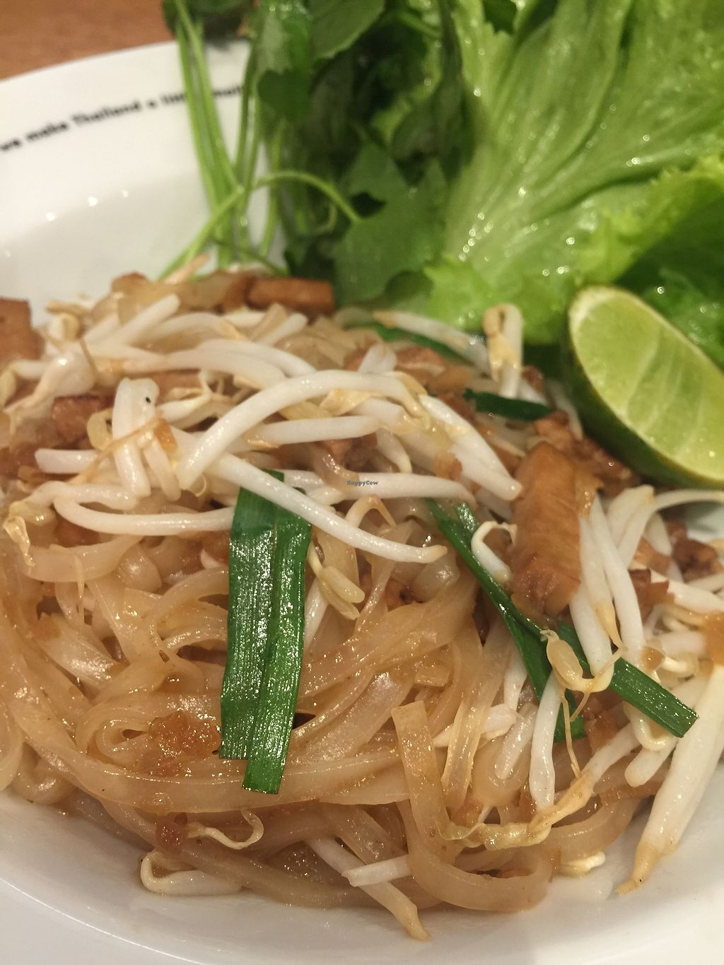 """Photo of Khun Churn - Eathai  by <a href=""""/members/profile/JaqVeganWriter"""">JaqVeganWriter</a> <br/>Pad Thai - omit egg <br/> February 16, 2018  - <a href='/contact/abuse/image/52986/359847'>Report</a>"""