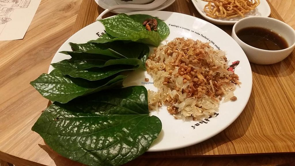 """Photo of Khun Churn - Eathai  by <a href=""""/members/profile/kenvegan"""">kenvegan</a> <br/>Delicious pad thai <br/> February 15, 2015  - <a href='/contact/abuse/image/52986/93139'>Report</a>"""