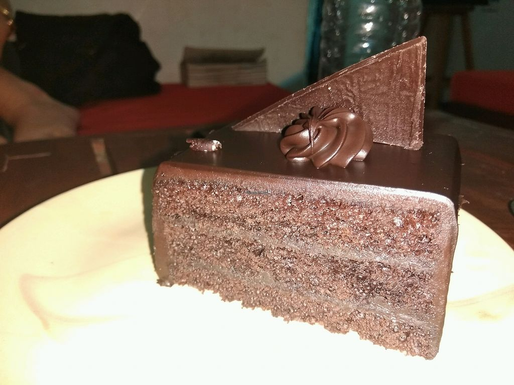 """Photo of Cafe Satori  by <a href=""""/members/profile/EdenLevanon"""">EdenLevanon</a> <br/>chocolate truffle cake  <br/> March 16, 2018  - <a href='/contact/abuse/image/52991/371239'>Report</a>"""