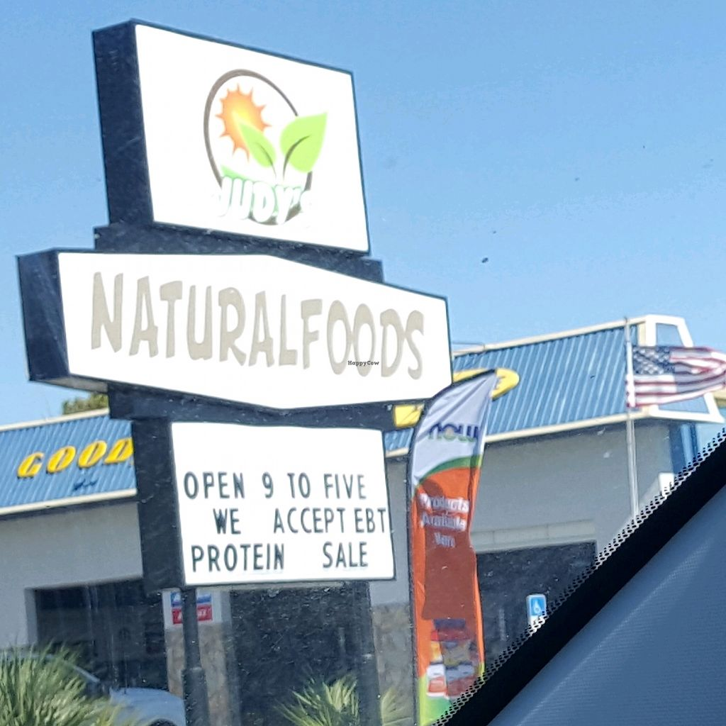 """Photo of Judy's Natural Foods  by <a href=""""/members/profile/debbiesmall"""">debbiesmall</a> <br/>new location ?❤?? <br/> November 18, 2017  - <a href='/contact/abuse/image/5299/326838'>Report</a>"""