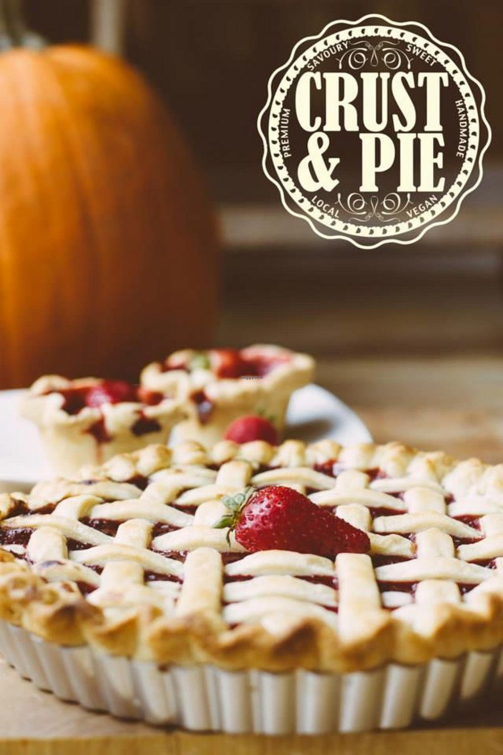 "Photo of Crust and Pie  by <a href=""/members/profile/EwenLewis"">EwenLewis</a> <br/>Crust & Pie Strawbarb Vegan Pie <br/> November 12, 2014  - <a href='/contact/abuse/image/53004/85302'>Report</a>"