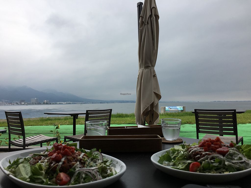 """Photo of Nagisa Warms  by <a href=""""/members/profile/minami"""">minami</a> <br/>Great view of Biwako Lake from the terrace <br/> September 6, 2017  - <a href='/contact/abuse/image/53033/301402'>Report</a>"""