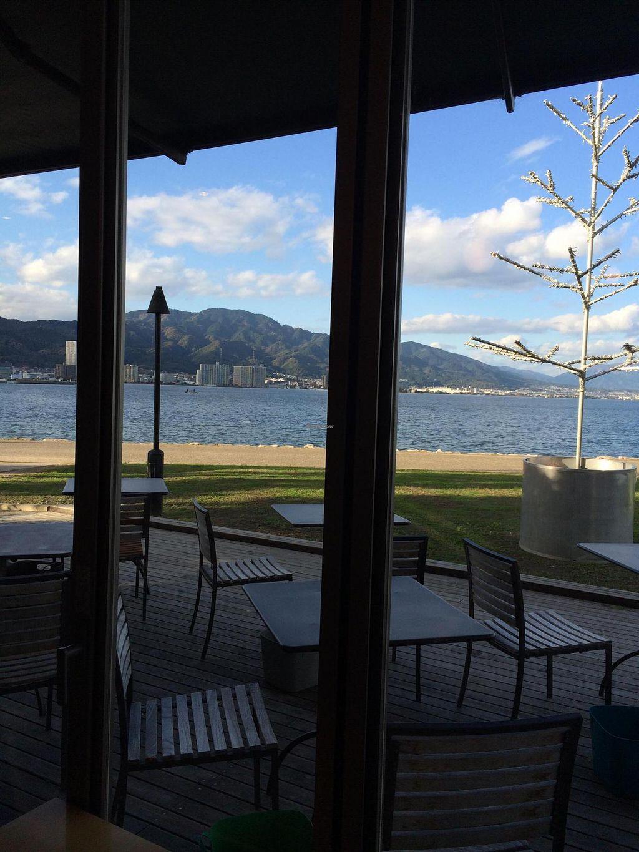 "Photo of Nagisa Warms  by <a href=""/members/profile/Vegeiko"">Vegeiko</a> <br/>Nagisa WARMS cafe facing beautiful Lake Biwa <br/> November 15, 2014  - <a href='/contact/abuse/image/53033/85744'>Report</a>"