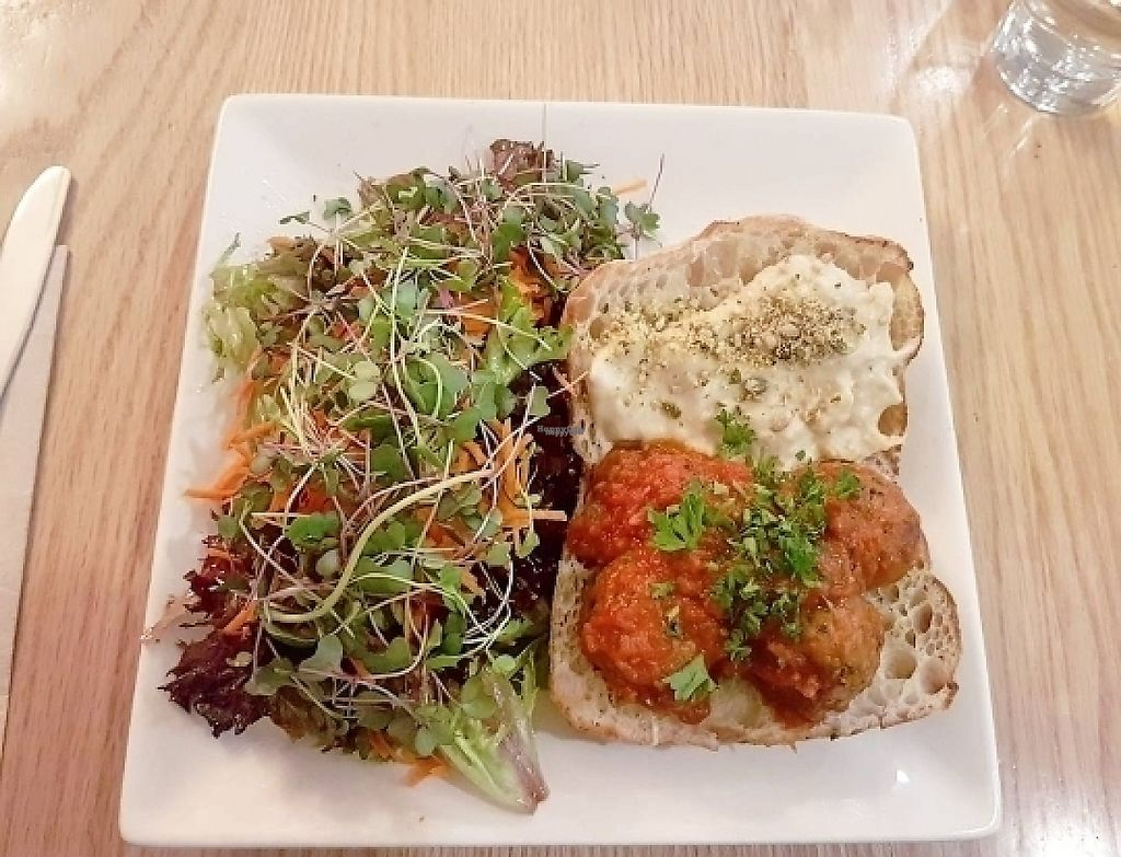 """Photo of Pure Kitchen - Richmond Rd  by <a href=""""/members/profile/Veganchick11"""">Veganchick11</a> <br/>Neatball Sub <br/> April 29, 2017  - <a href='/contact/abuse/image/53042/253882'>Report</a>"""