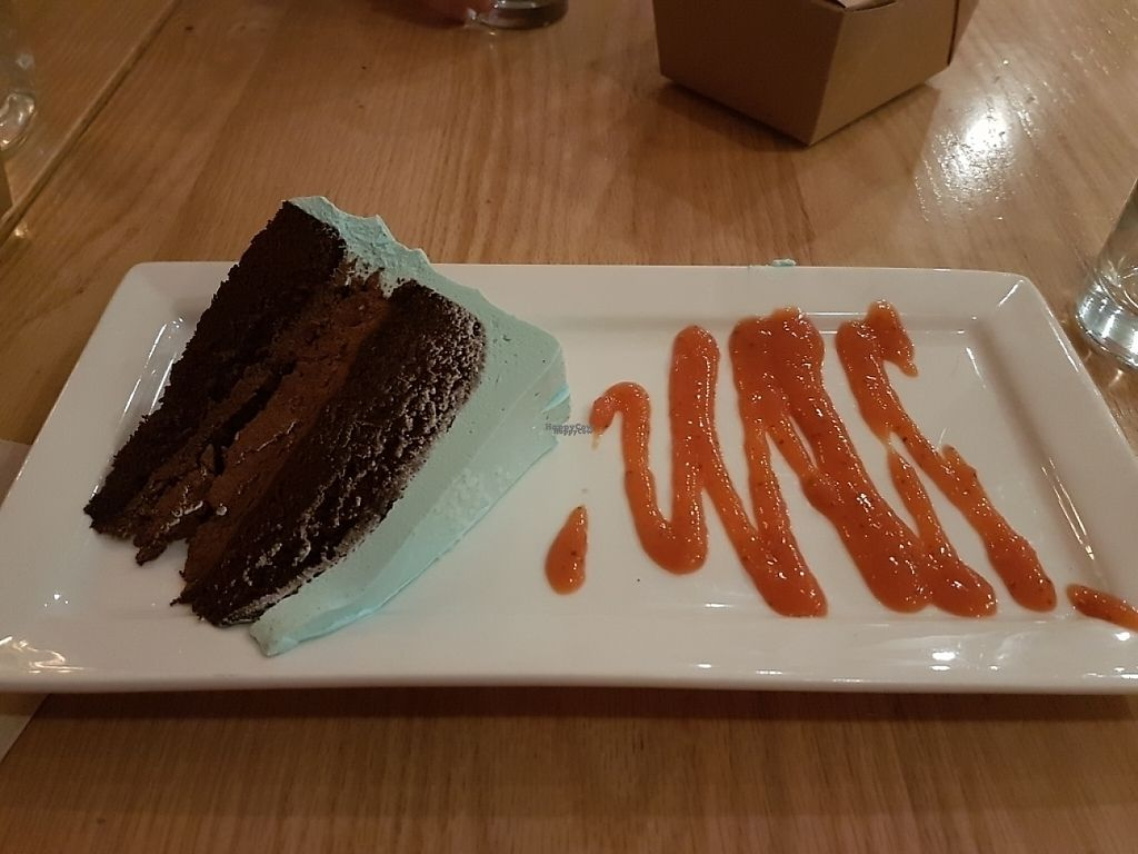 """Photo of Pure Kitchen - Richmond Rd  by <a href=""""/members/profile/Veganchick11"""">Veganchick11</a> <br/>vegan chocolate cake <br/> April 29, 2017  - <a href='/contact/abuse/image/53042/253884'>Report</a>"""