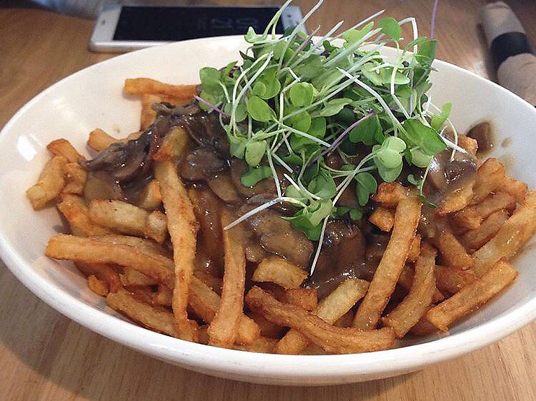 """Photo of Pure Kitchen - Richmond Rd  by <a href=""""/members/profile/hayls04"""">hayls04</a> <br/>The vegan poutine with cashew cheese <br/> September 12, 2017  - <a href='/contact/abuse/image/53042/303566'>Report</a>"""