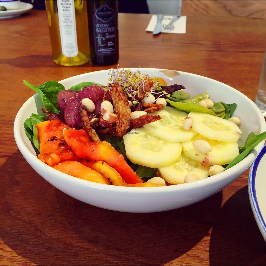 "Photo of Flax & Kale - Placa Castella  by <a href=""/members/profile/AnastaciaJanowska"">AnastaciaJanowska</a> <br/>grilled papaya salad <br/> March 28, 2018  - <a href='/contact/abuse/image/53077/377199'>Report</a>"