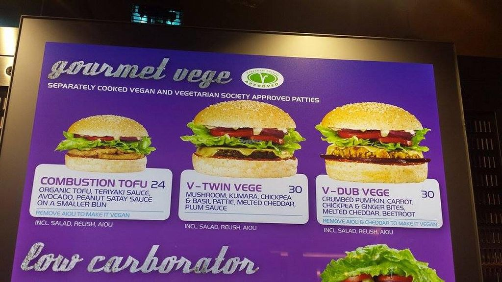 """Photo of BurgerFuel - Sowah Square  by <a href=""""/members/profile/apartment2504"""">apartment2504</a> <br/>veg menu <br/> November 21, 2014  - <a href='/contact/abuse/image/53080/86141'>Report</a>"""