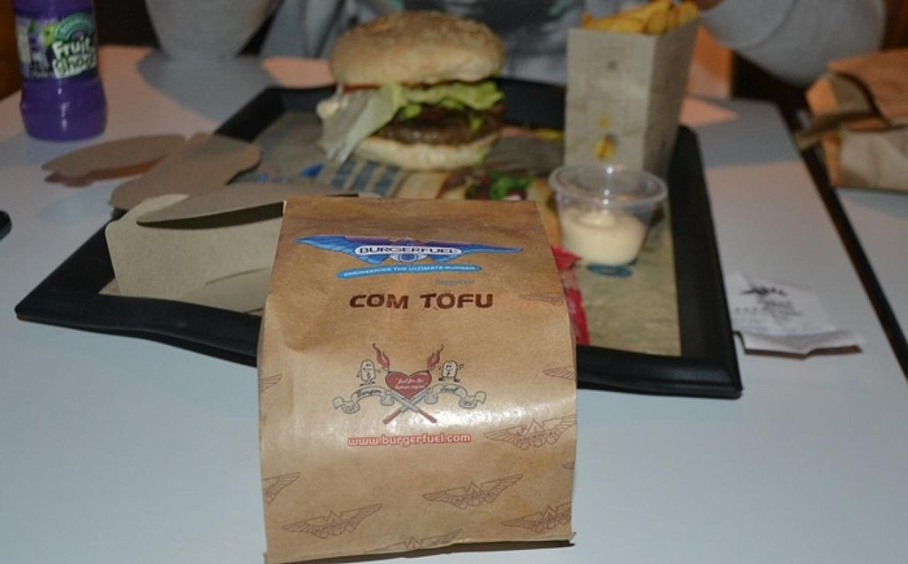 """Photo of BurgerFuel - Sowah Square  by <a href=""""/members/profile/apartment2504"""">apartment2504</a> <br/>tofu burger <br/> November 21, 2014  - <a href='/contact/abuse/image/53080/86143'>Report</a>"""